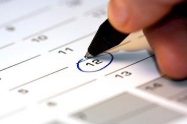Kalender Studienvorbereitung